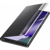 Clear View cover voor Galaxy Note20 Ultra – Zwart