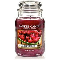 Product photograph showing Yankee Candle Large Jar - Black Cherry