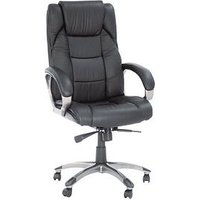 Product photograph showing Alphason Northland Leather Office Chair
