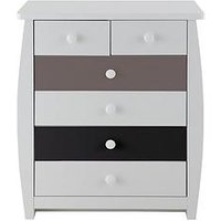 Product photograph showing Orlando Fresh Kids 4 2 Chest Of Drawers