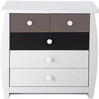 Product photograph showing Orlando Fresh Kids 3 2 Chest Of Drawers