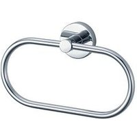 Product photograph showing Aqualux Haceka Kosmos Towel Ring