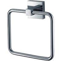 Product photograph showing Aqualux Haceka Mezzo Bathroom Towel Rail