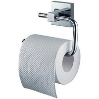 Product photograph showing Aqualux Haceka Mezzo Chrome Toilet Roll Holder
