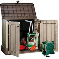 Product photograph showing Keter Woodland 30 Shed