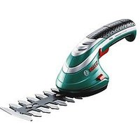 Product photograph showing Bosch Isio Shape And Edge Grass And Shrub Shear
