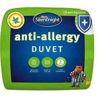Product photograph showing Silentnight Anti Allergy Anti Bacterial 7 5 Tog Duvet