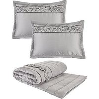 Product photograph showing Franchesca Bedspread Throw And Pillow Shams Set