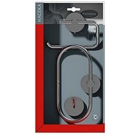 Product photograph showing Aqualux Kosmos Bathroom Accessory Starter Pack