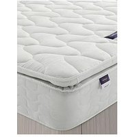 Product photograph showing Silentnight Pippa Eco Ultimate Pillowtop Mattress - Firm