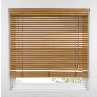 Product photograph showing Made To Measure 35 Mm Wooden Venetian Blinds - Tawny