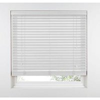 Product photograph showing Made To Measure 50 Mm Wooden Venetian Blinds - Polar
