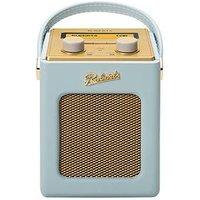 Roberts Mini Revival Dab/Dab+/Fm Digital Radio - Duck Egg Blue sale image