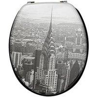 Product photograph showing Aqualona New York City Toilet Seat