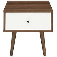 Product photograph showing Monty Retro Lamp Table