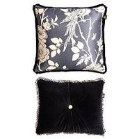 image-Laurence Llewelyn-Bowen Royal Rose Garden Cushions (Pair)
