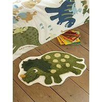 Product photograph showing Catherine Lansfield Dino Rug 50 X 80 Cm