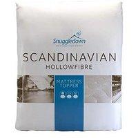 image-Snuggledown Of Norway Scandinavian Hollowfibre Mattress Topper