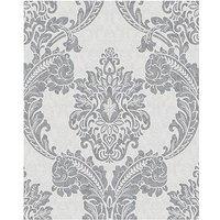 Product photograph showing Superfresco Colours Regent Wallpaper - Grey