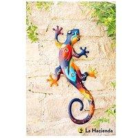 Product photograph showing La Hacienda Aztec Lizard Wall Art