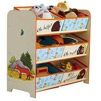 Product photograph showing Gruffalo Kids Toy Storage Unit By Hellohome
