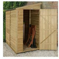 Product photograph showing Forest 6 X 3ft Overlap Wall Shed