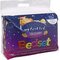 image-Silentnight Kids Complete Bed Set - Includes 10.5 Tog Duvet, Mattress Protector And Pillow