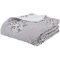 Product photograph showing Catherine Lansfield Floral Bouquet Bedspread Throw