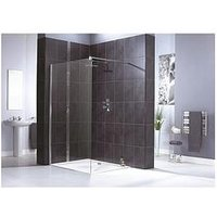 Product photograph showing Aqualux Shine Shower Panel 1200mm Amp Aqua 25 Sphere Shower Tray 1200mm X 800mm