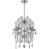 Product photograph showing Marquis By Waterford Annalee 5 Light Chandelier