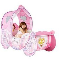 image-Disney Princess Carriage Toddler Bed