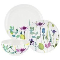 Product photograph showing Portmeirion Water Garden 12-piece Dinner Set