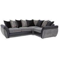 Product photograph showing Hilton Right-hand Double Arm Corner Group Sofa