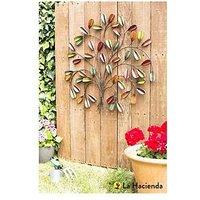 Product photograph showing La Hacienda Leaf Posy Wall Art