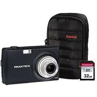 Praktica Luxmedia Z250 Black Camera Kit Including 32Gb Sdhc Class 10 Card And Case sale image