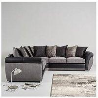 Product photograph showing Hilton Double Arm Corner Group Sofa