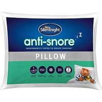 Product photograph showing Silentnight Anti Snore Pillow