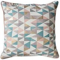 Product photograph showing Gallery Triangle Geo Cushion