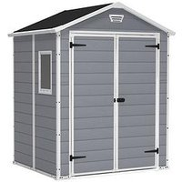Product photograph showing Keter 6 X 5 Ft Manor Resin Shed