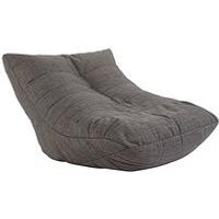 Product photograph showing Ideal Home Luxury Lounger