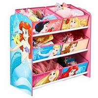 image-Disney Princess Kids Toy Storage Unit