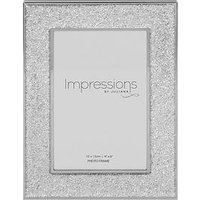 Product photograph showing Silver Plated Glitter Photo Frame