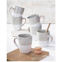 Product photograph showing Waterside Dipped Glaze Mugs