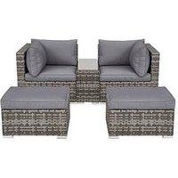 Product photograph showing Aruba Outdoor 2 Seater Modular Sofa Set