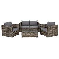 Product photograph showing Aruba 4-seater Sofa Set