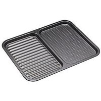 Product photograph showing Masterclass Non-stick Divided Baking Tray