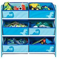 Product photograph showing Hello Home Dinosaurs Kids Toy Storage Unit By Hellohome