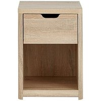Product photograph showing Aspen 1 Drawer Bedside Chest