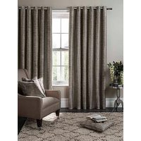 Product photograph showing Studio G Campello Lined Eyelet Curtains