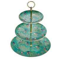 Product photograph showing Sara Miller Sara Miller Chelsea 3-tier Cake Stand